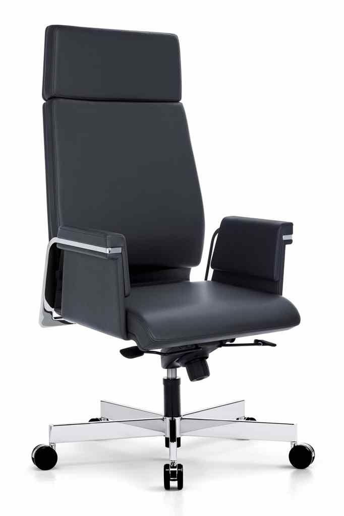 Кресло для руководителя удобное и комфортное, дорогое кожаное кресло - качественное и функциональное