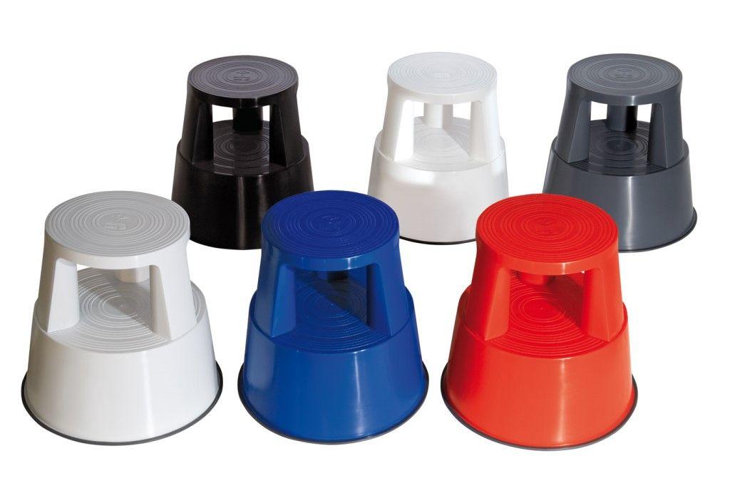 Табурет-стремянка пластиковый производитель Германия - для магазинов, для дома, для офиса - везде, где нужно стать выше